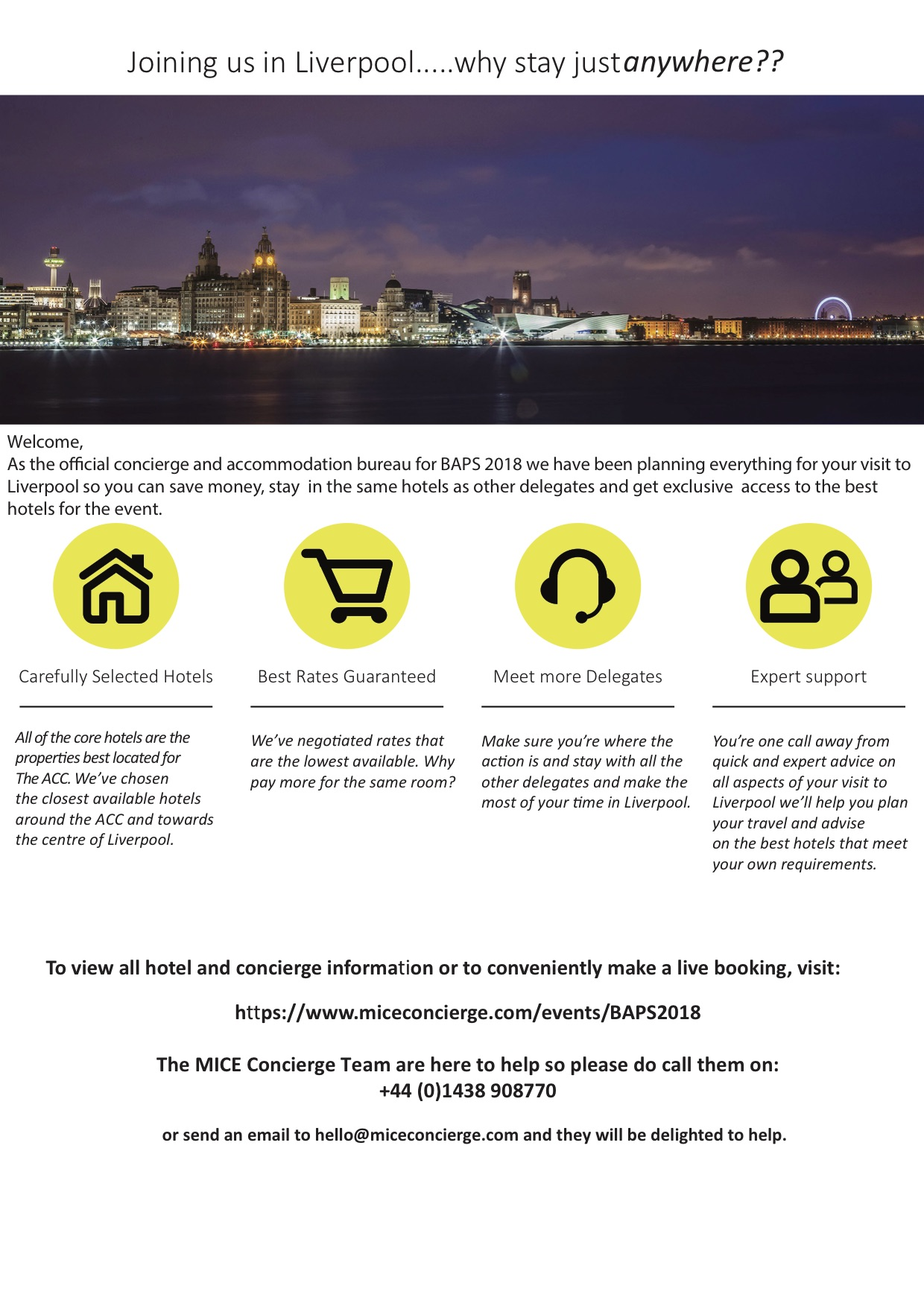 Concierge Liverpool Flyer